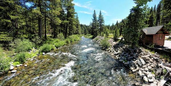 Truckee River In Tahoe City Poster