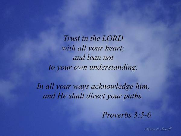 Trust In The Lord... Poster