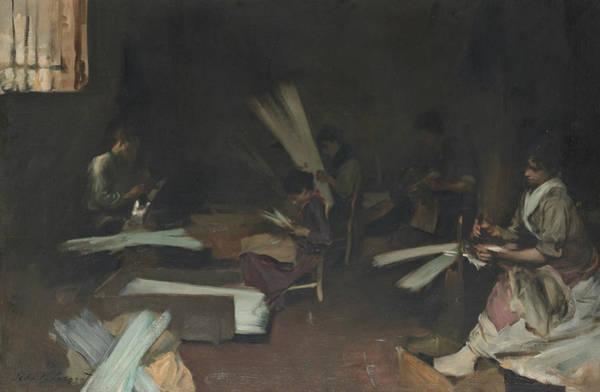 Venetian Glass Workers  Poster