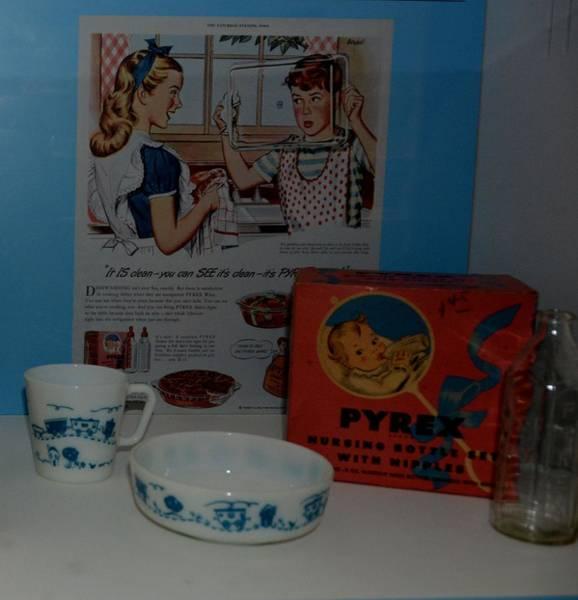 Vintage Pyrex Ad Poster