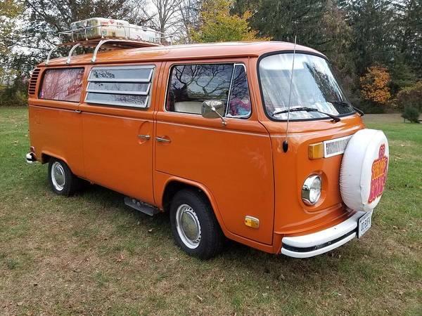 Volkswagen Bus T2 Westfalia Poster