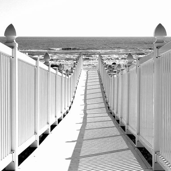 Walkway To Beach Poster
