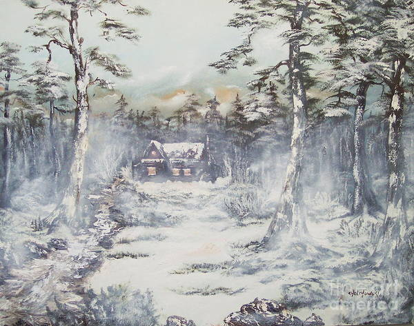 Winter House Poster