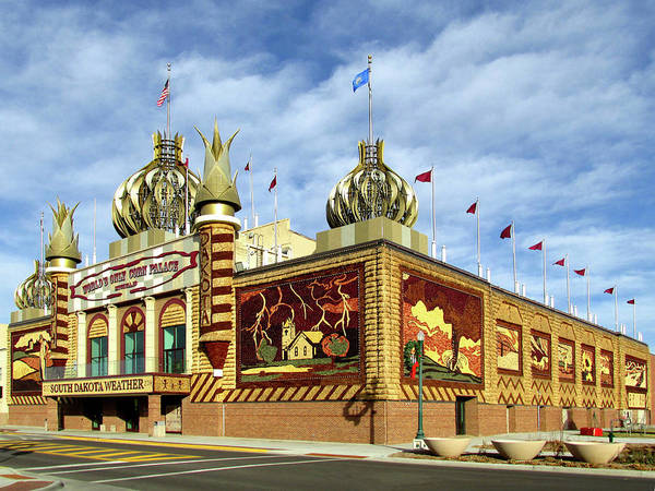 Poster featuring the photograph World's Only Corn Palace 2017-18 by Rich Stedman