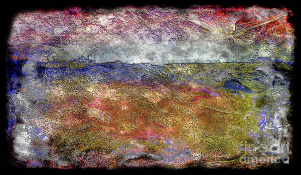 10c Abstract Expressionism Digital Painting Poster
