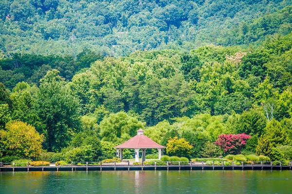 Scenery Around Lake Lure North Carolina Poster