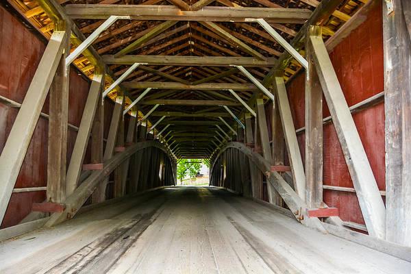 143 Feet Of Covered Bridge Poster