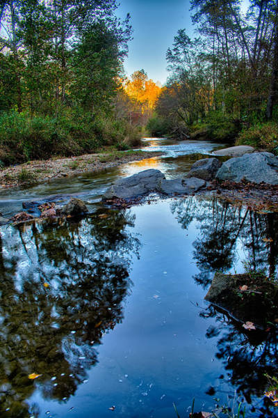 Stone Mountain North Carolina Scenery During Autumn Season Poster