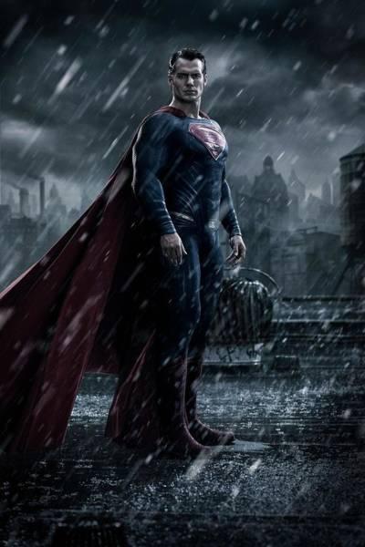 Batman V Superman Dawn Of Justice 2016 Poster