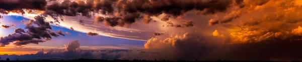 Nebraska Hp Supercell Sunset Poster