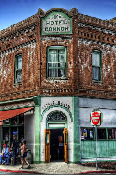 1898 Hotel Connor - Jerome Arizona Poster
