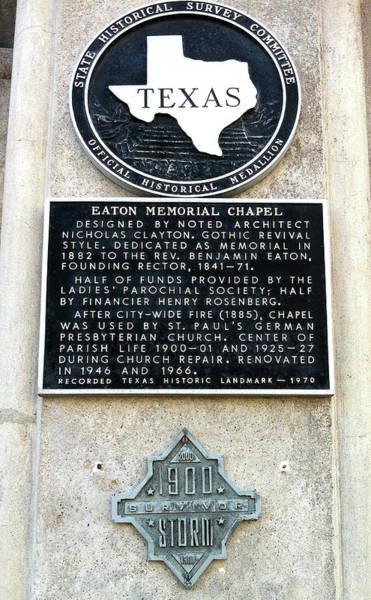 1900 Storm Galveston Poster
