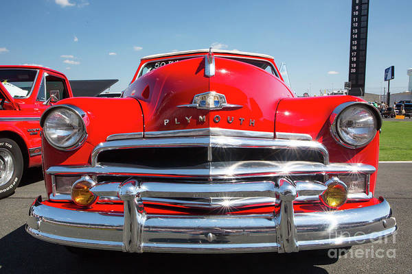 1950 Plymouth Automobile Poster
