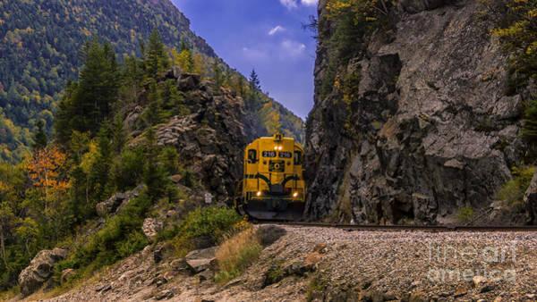 Conway Scenic Railroad Notch Train. Poster