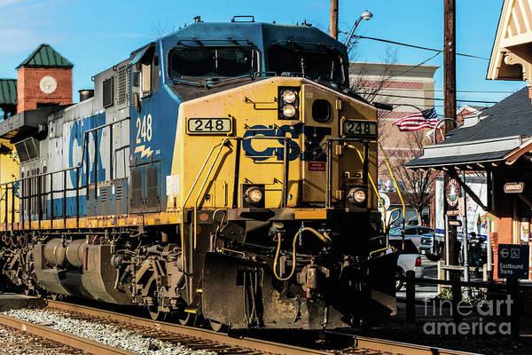 Csx Engine Gaithersburg Maryland Poster