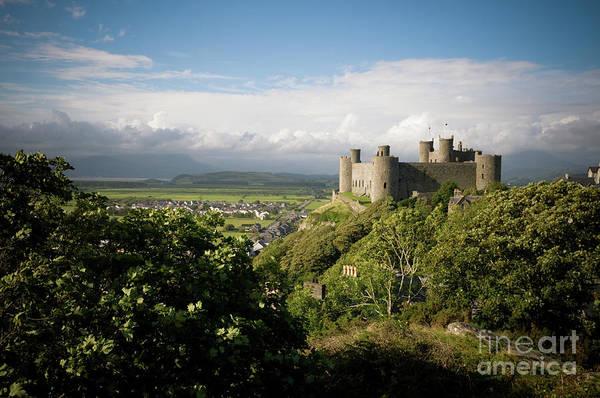 Harlech Castle, Snowdonia, Gwynedd, North Wales, Uk Poster