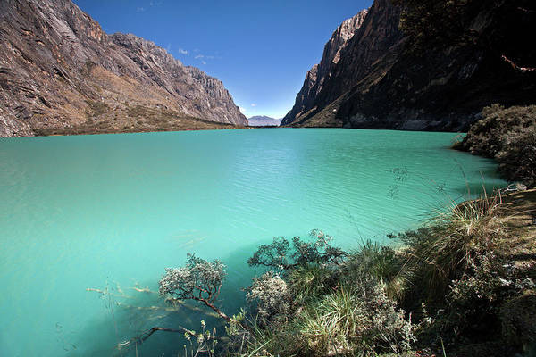 Llanganuco Lakes Poster