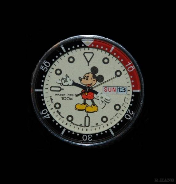 Mickey Mouse Watch Face Poster