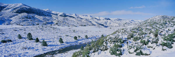 Panoramic View Of Winter Snow Poster