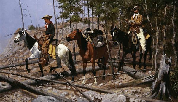 Prospecting For Cattle Range Poster