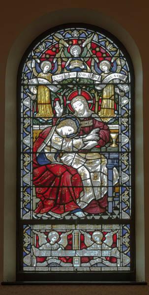 Saint Anne's Windows Poster