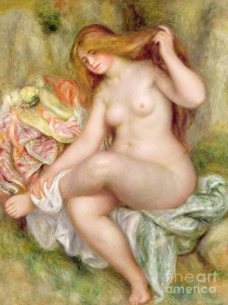 Seated Bather Poster