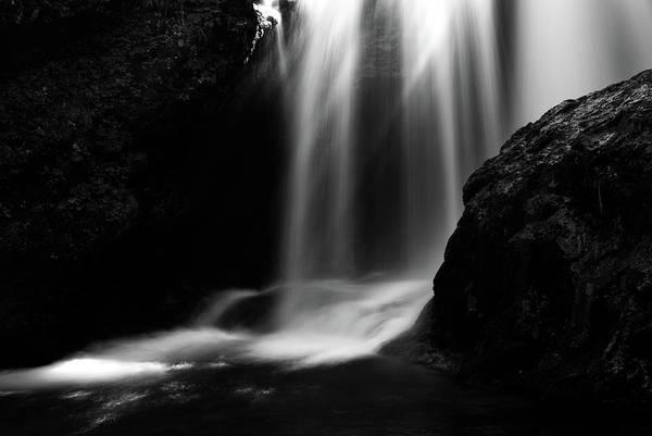Sum Waterfall In Vintgar Gorge Poster