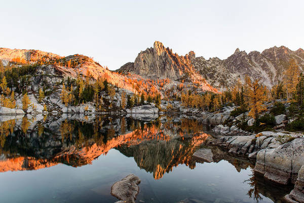 Sunrise In The Enchantments Poster