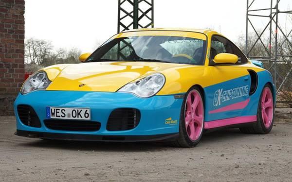 2002 Ok Chiptuning Manta Porsche 996 Turbo  1 Poster