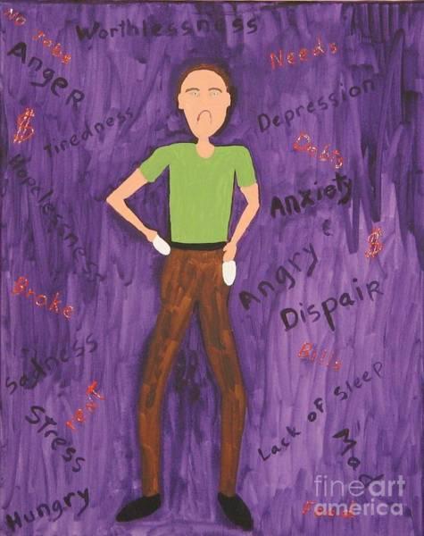 2011 Worried Man Poster