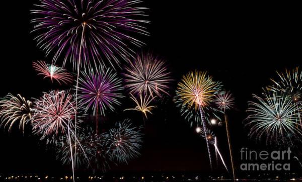 2013 Fireworks Over Alton Poster