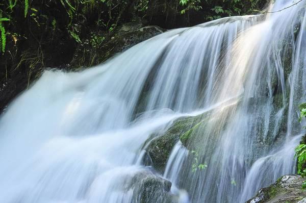 Waterfall Scenery Poster