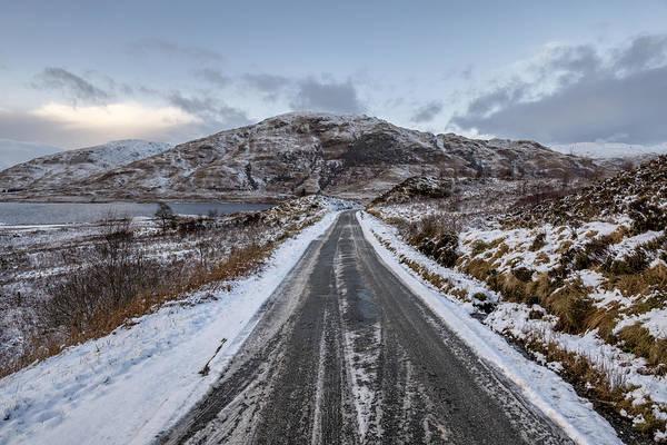 Trossachs Scenery In Scotland Poster