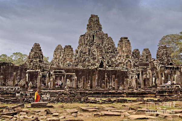 Poster featuring the photograph Angkor Wat by Juergen Held