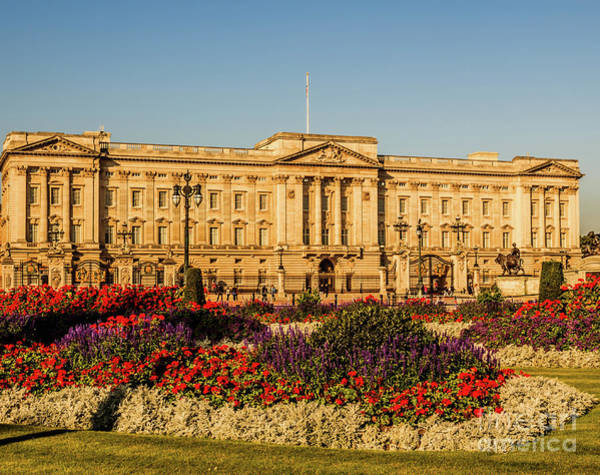 Buckingham Palace, London, Uk. Poster