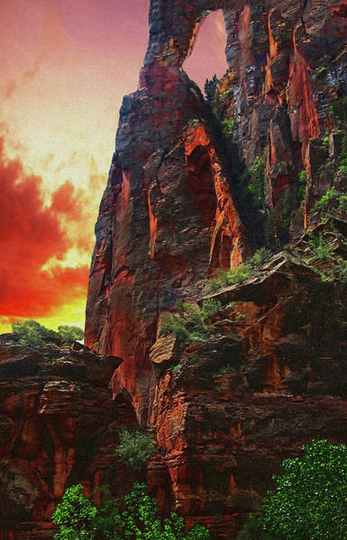 Sunrise In Canyonlands Poster
