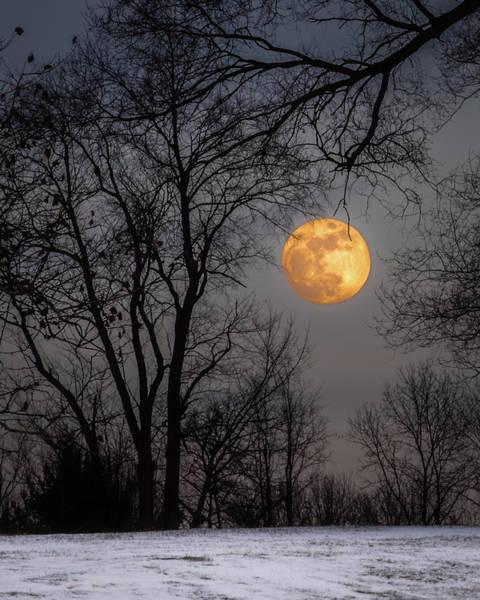 Super Blue Moon Rising Poster