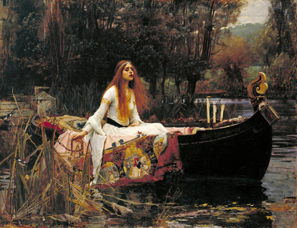 The Lady Of Shalott Poster