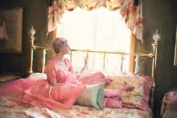 Vintage Val Bedroom Dreams Poster