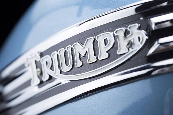 1949 Triumph Trophy Poster
