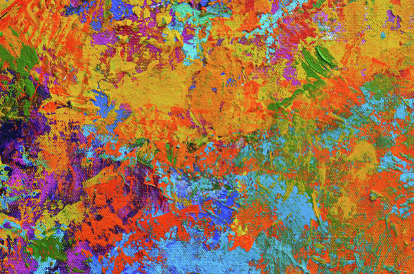Abstract Painting Modern Art Contemporary Design Poster