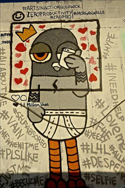 Bushwick Brooklyn Graffitti Poster