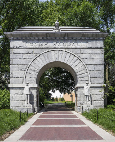 Camp Randall Memorial Arch - Madison Poster