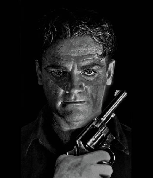 James Cagney - A Study Poster