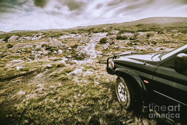 4wd On Offroad Track Poster