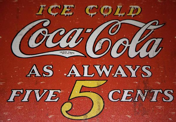 5 Cent Coca Cola Poster