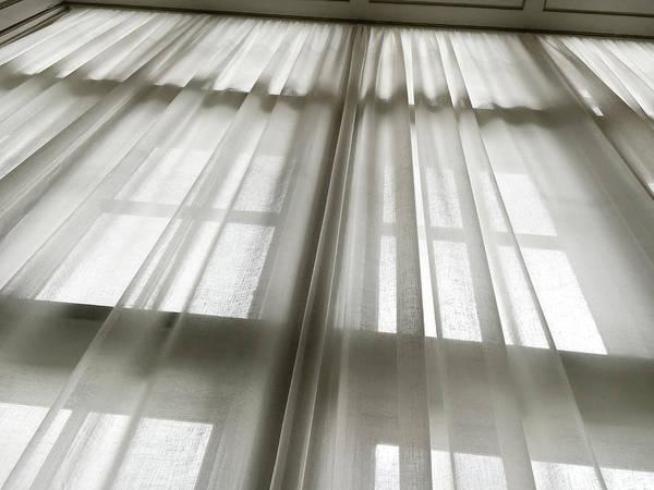 Linen Curtain Poster