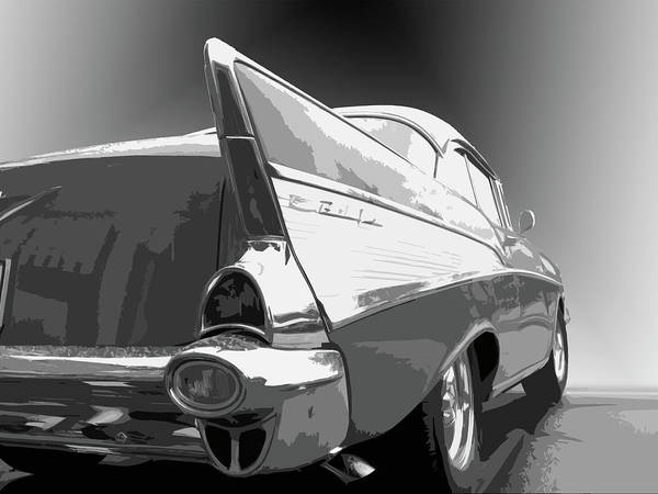 57 Chevy Horizontal Poster