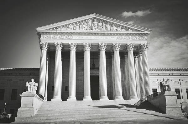 Supreme Court Building Poster