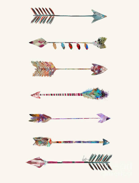 7 Arrows Poster